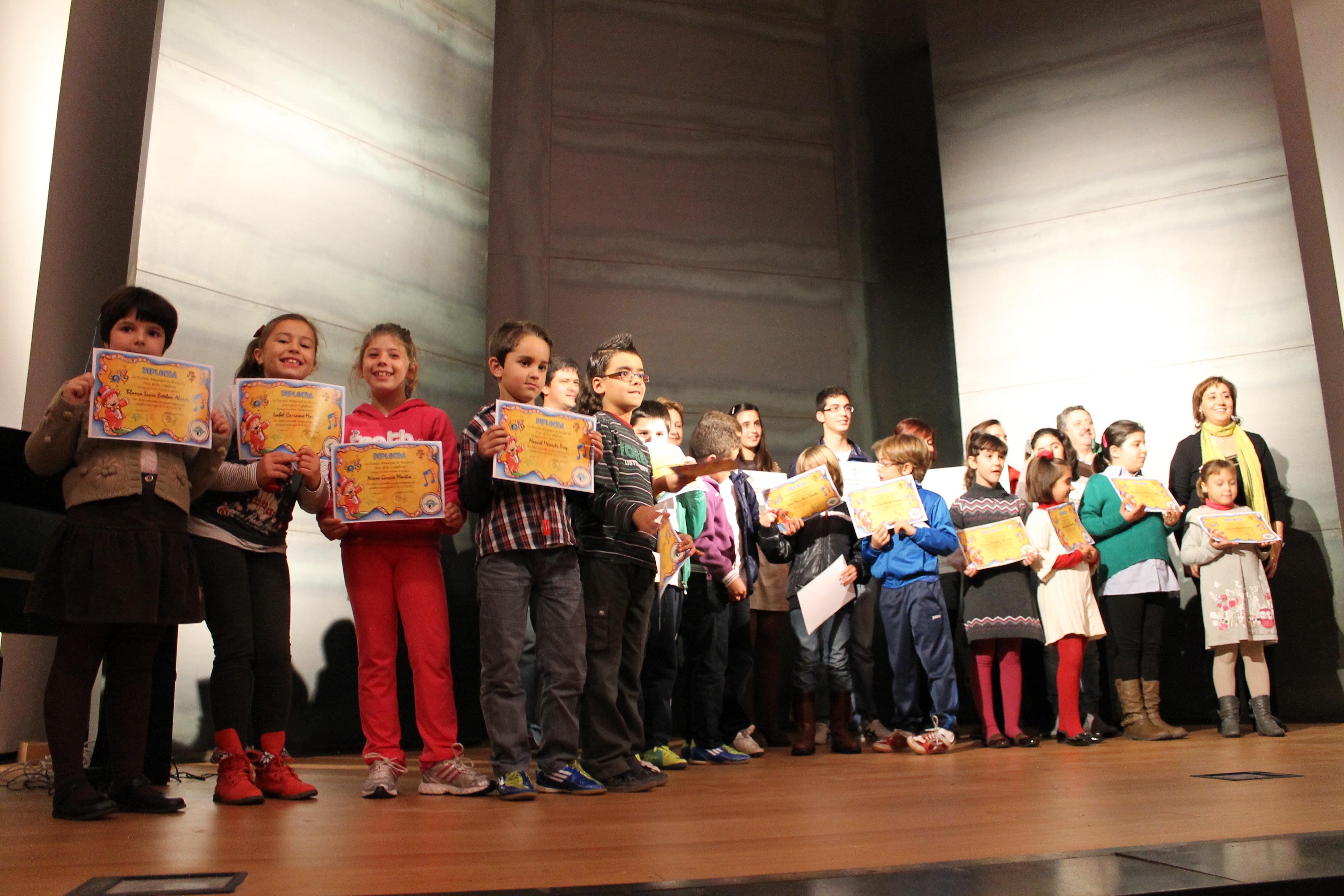 La Escuela Municipal de Música celebró la festividad de Santa Cecilia con un concierto