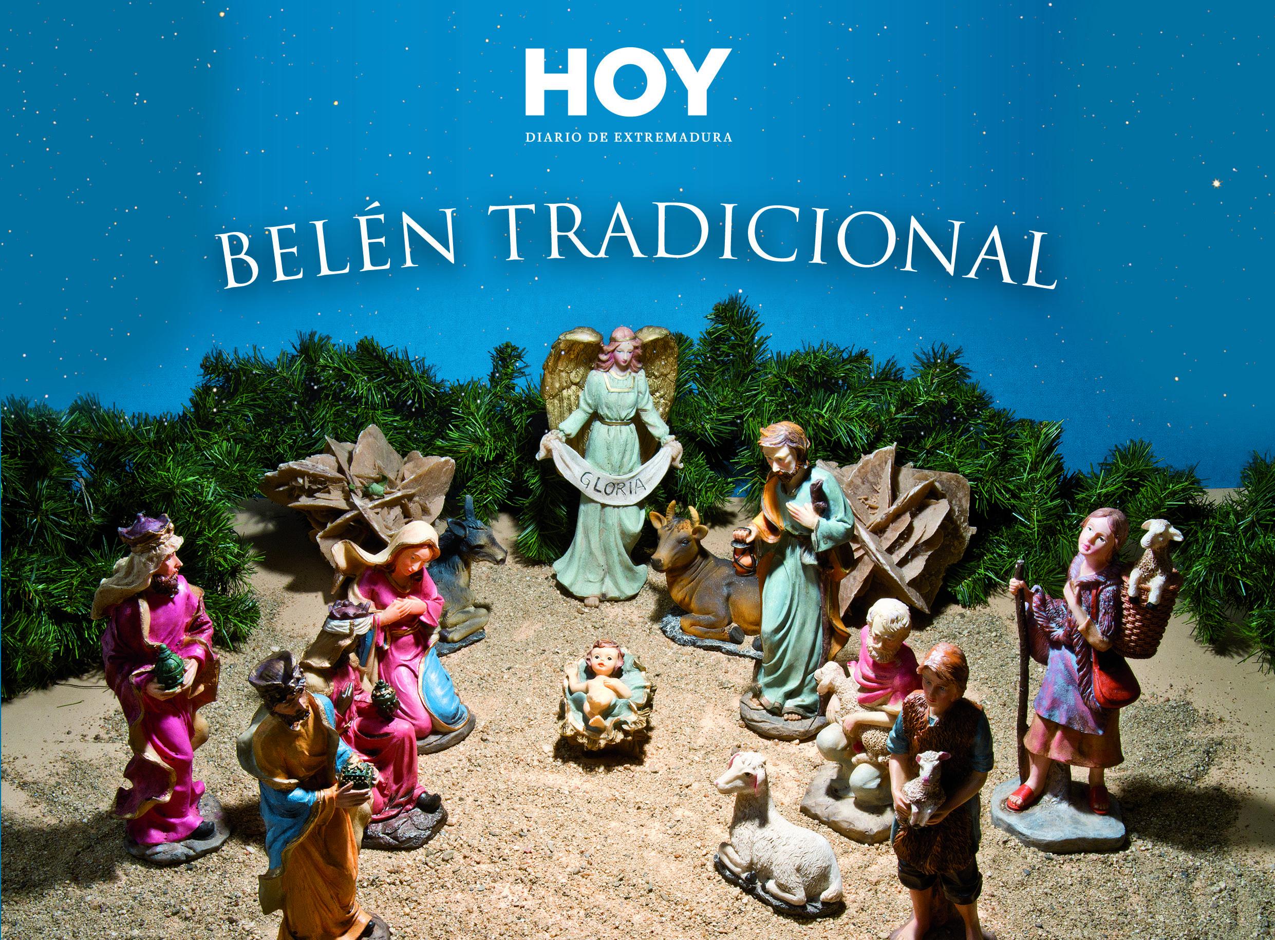 Consigue el Belén tradicional con el Diario HOY