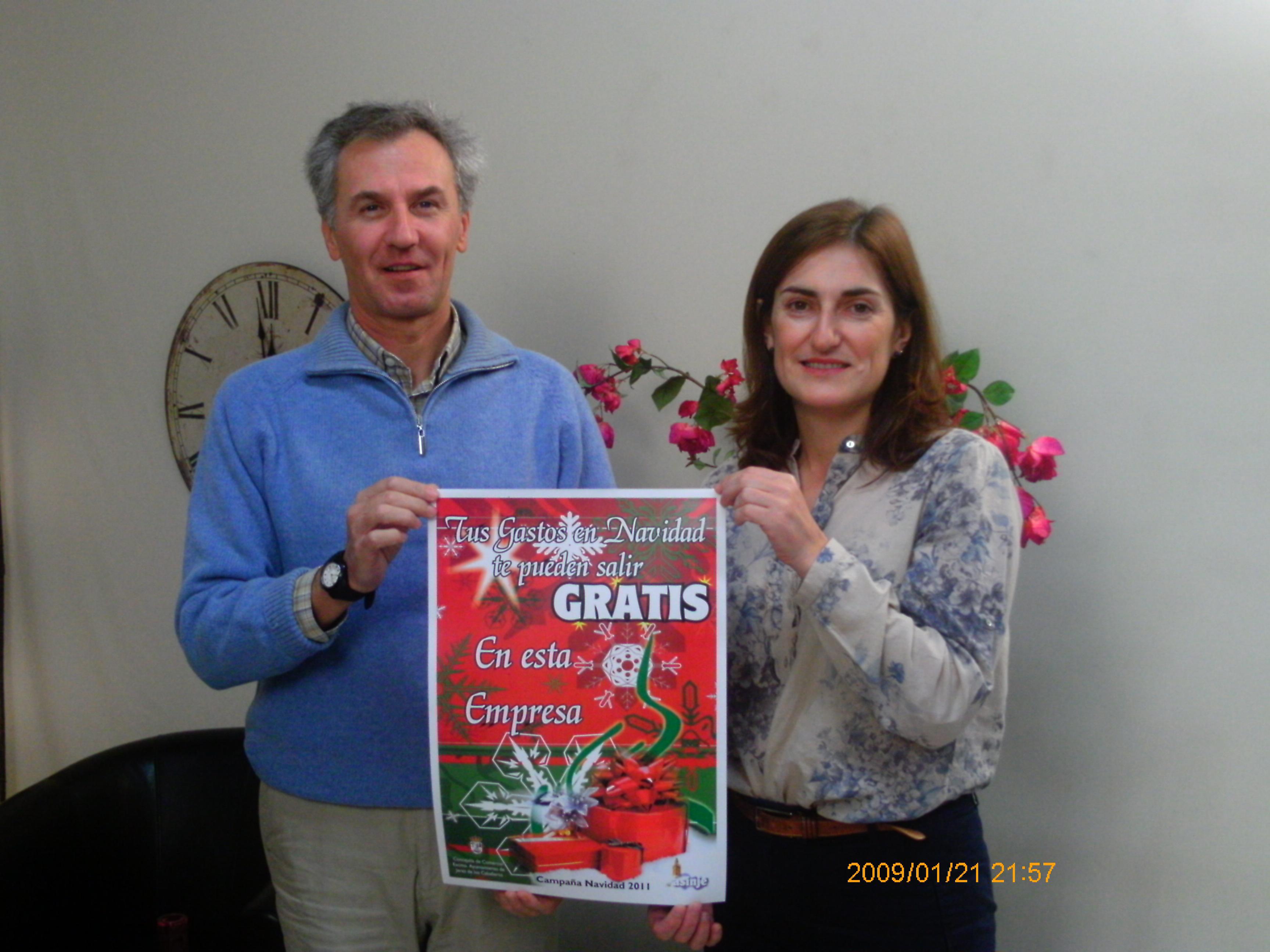ASINJE y el Ayuntamiento pondrán en marcha una campaña para fomentar el consumo en Navidad