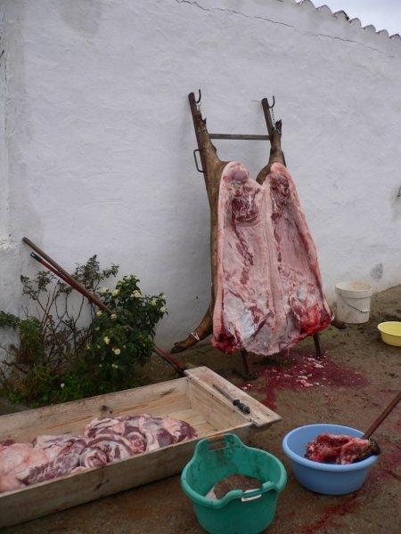 La tradición de la matanza se mantiene viva en Jerez y sus pedanías