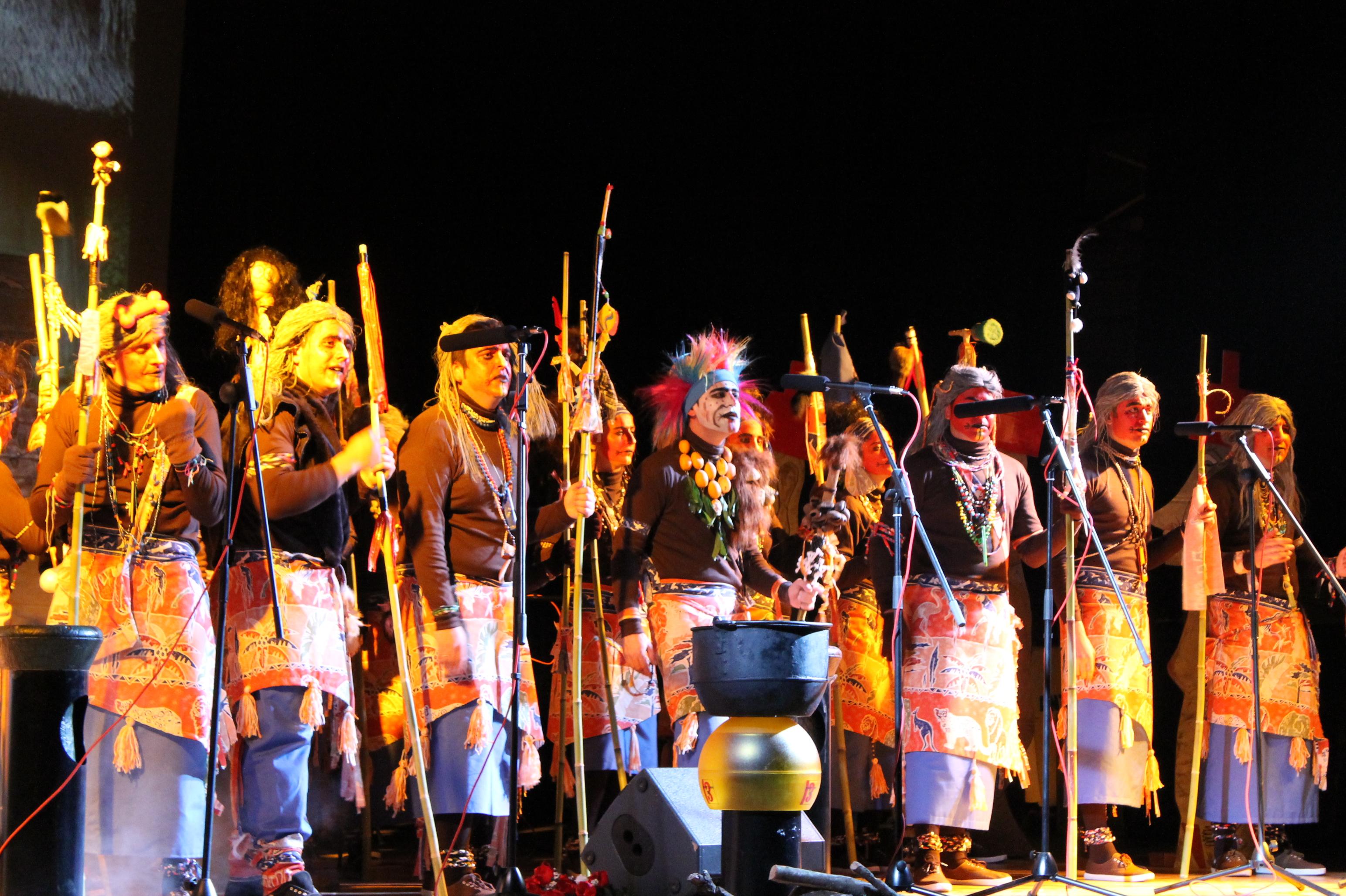 certamen de murgas y desfile de carnaval