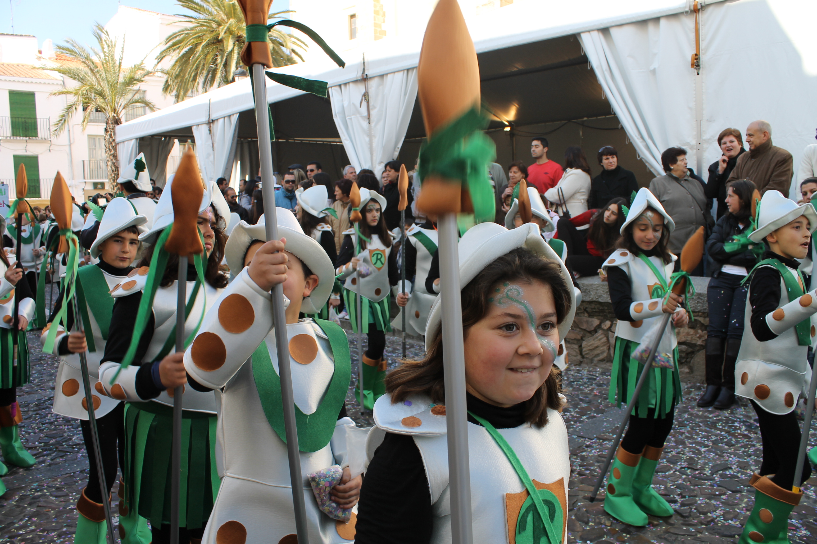 desfile de carnaval de los centros educativos, Jerez de los Caballeros