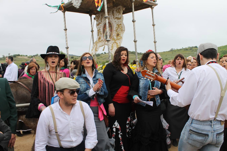 Romería en honor de Nuestra Señora de Aguasantas 2014
