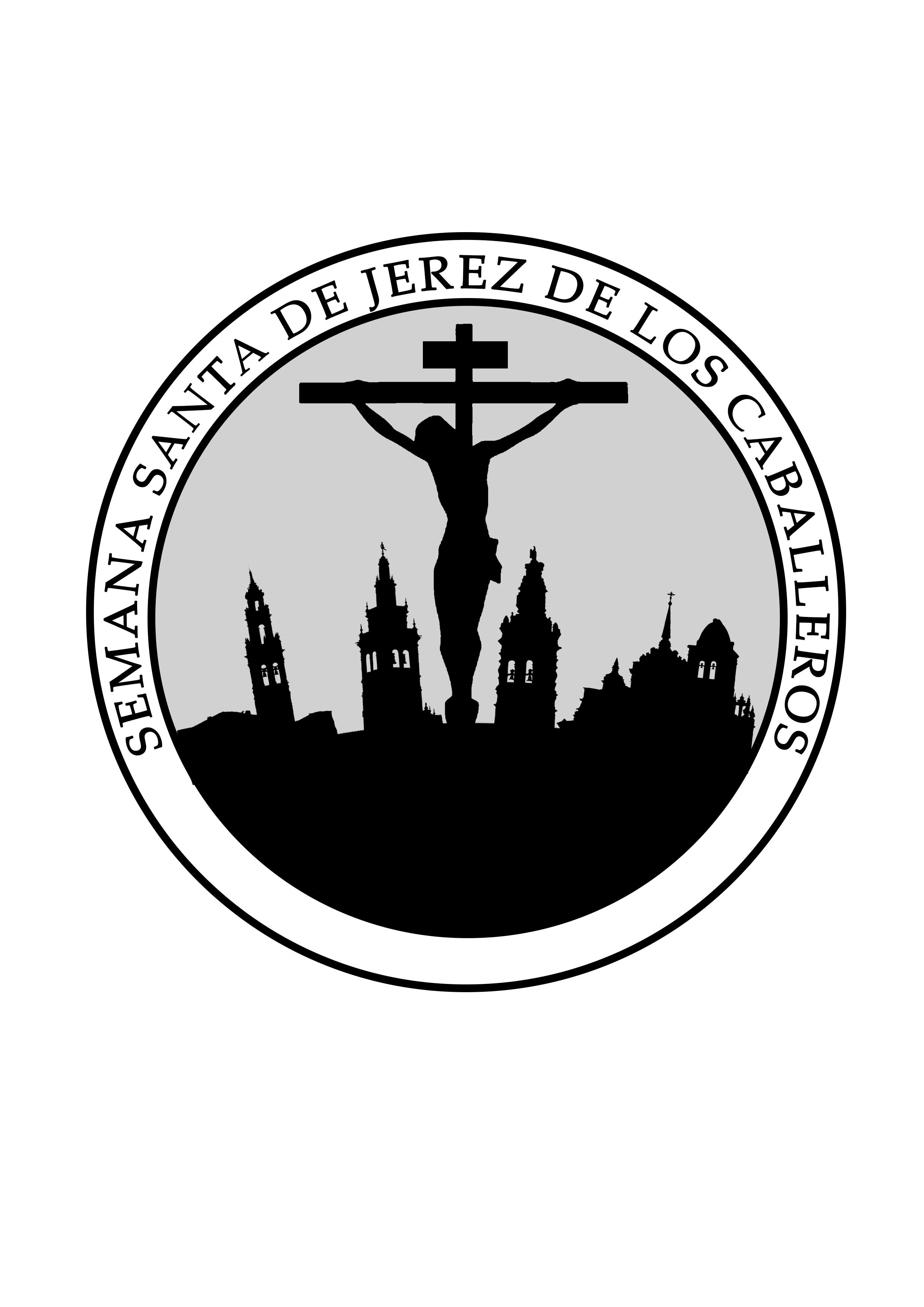 logotipo que representará a la Semana Santa de Jerez de los Caballeros
